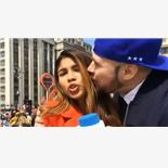Colombian Journalist Gets 'Groped, Kisse...