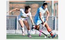 Indian Eves Register Win in Fifth Hockey...