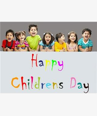 Happy children's Day..........