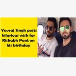 Yuvraj Singh posts hilarious wish for Ri...