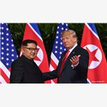 Trump-Kim historic summit realtime cover...
