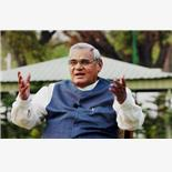Former Indian PM Atal Bihari Vajpayee pa...
