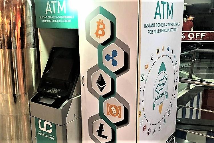 India's first cryptocurrency ATM launche...