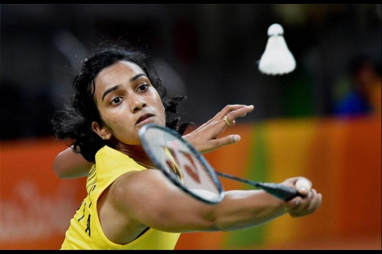 Badminton world champion PV Sindhu award...