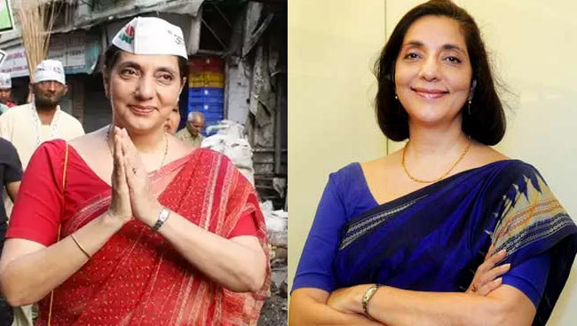 Noted banker and AAP leader Meera Sanyal...