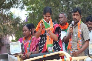 Ground report: Up against bigwigs, BJP's...