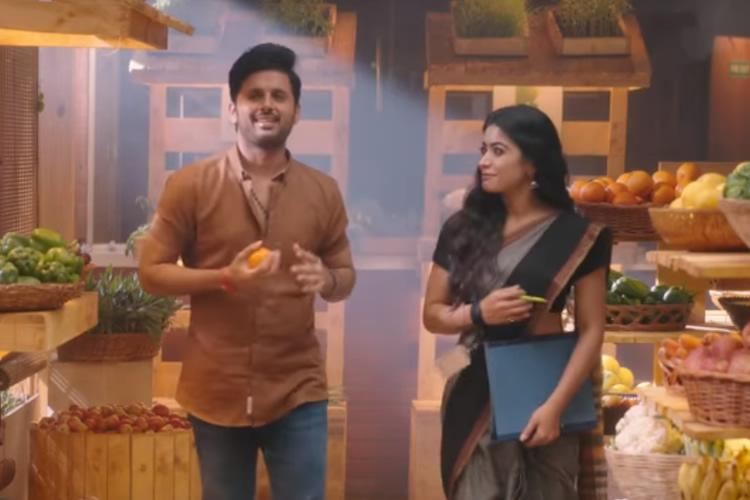 Bheeshma Review This Nithiin Starrer Is Part Hilarious Part Pretentious Today Bharat