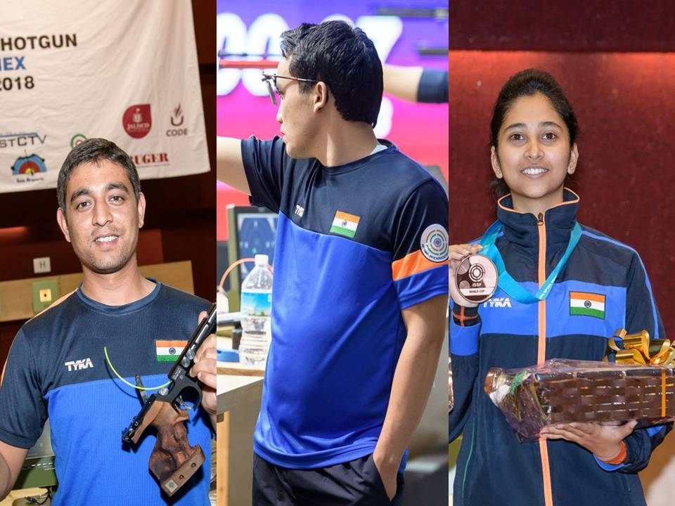 ISSF World Cup: Debutant Shahzar and Jit...