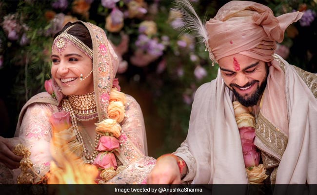Virat And Anushka Married In Italy