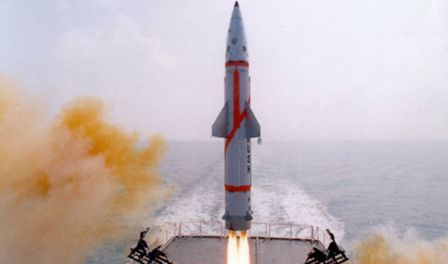 'Dhanush' ballistic missile successfully...