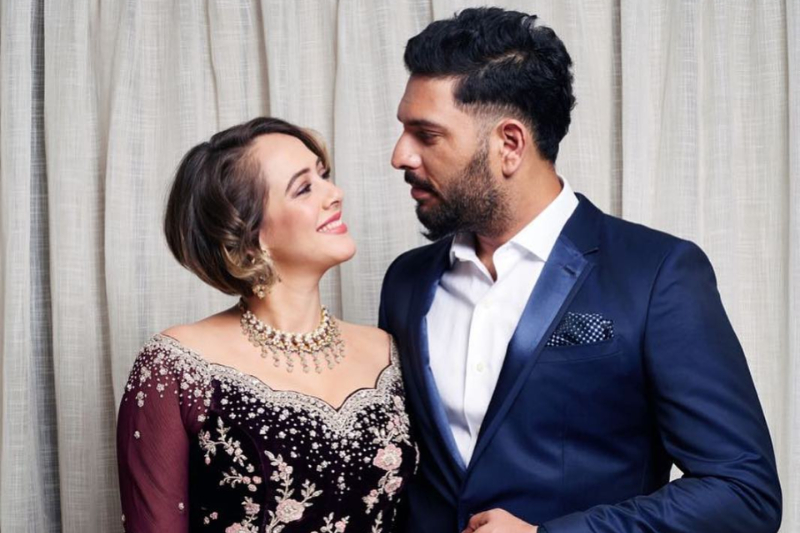 Yuvraj Singh's wife Hazel Keech reacts o...