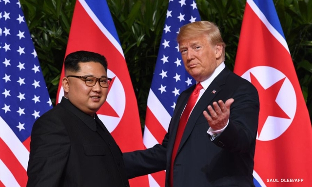 Trump-Kim historic summit realtime coverage